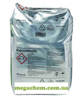 Пиросульфит калия Е224